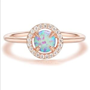 🎀 Opal Ring, Adjustable 🎀 NEW